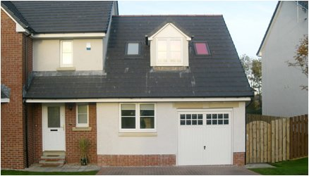 garage conversions scotland image